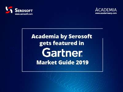 Academia SIS by Serosoft gets featured in Gartner Market Guide