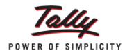 Tally Integration